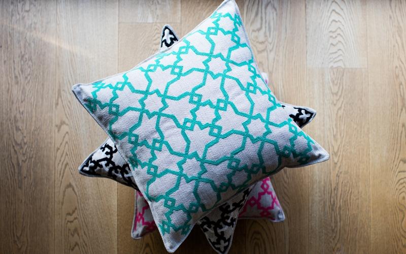 Koutubia Embroidered Cushions