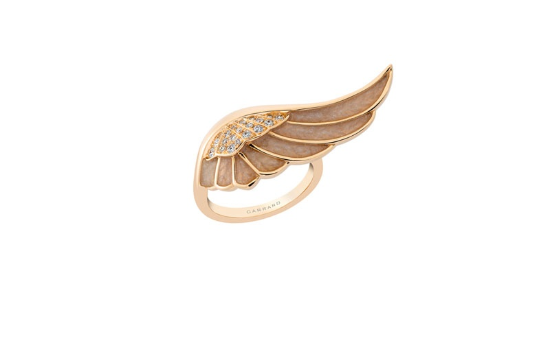 Wings Reflection Ring