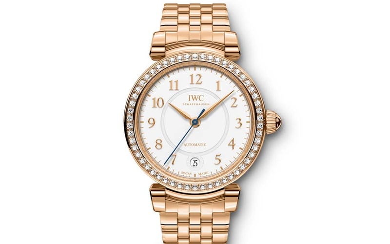 DA VINCI AUTOMATIC 36 18 CARAT RED GOLD WITH 54 DIAMONDS
