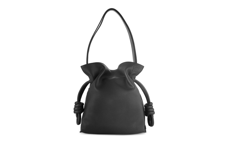 Flamenco Knot Bag Black