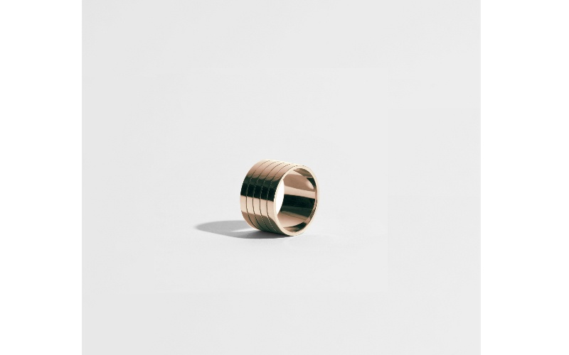 SILLONS RING - 18 CARAT FAIRMINED GOLD