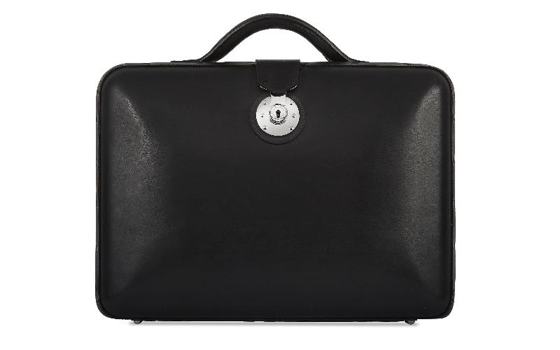 No. 25 Briefcase - Black