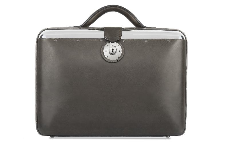No. 25 Briefcase - Graphite