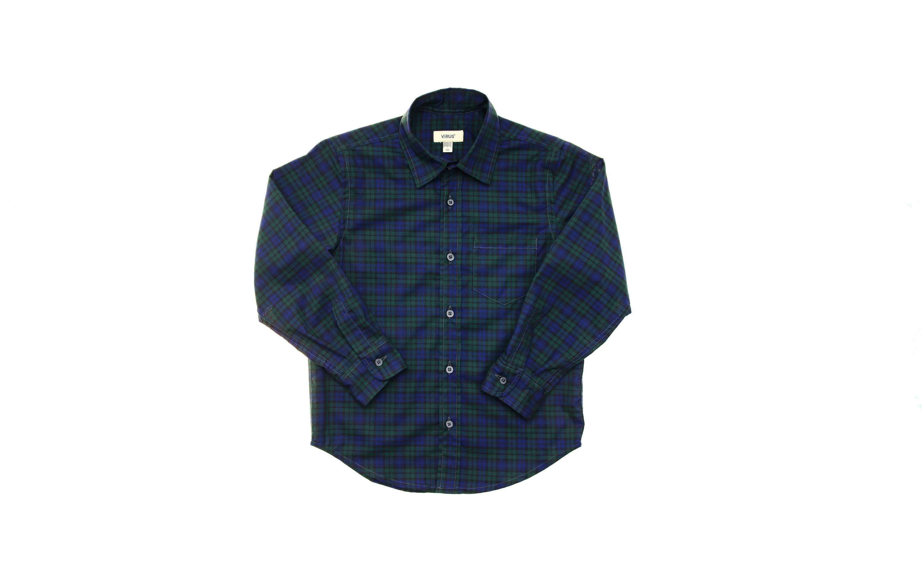 Dark Blue Sherlock Shirt