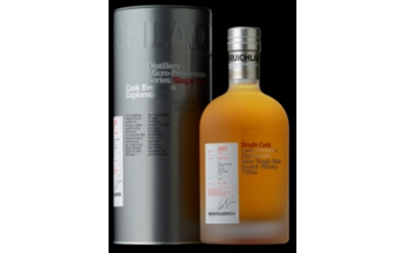 BRUICHLADDICH MICRO PROVENANCE CASK #014 2007 ISLAY BARLEY FRESH OAK