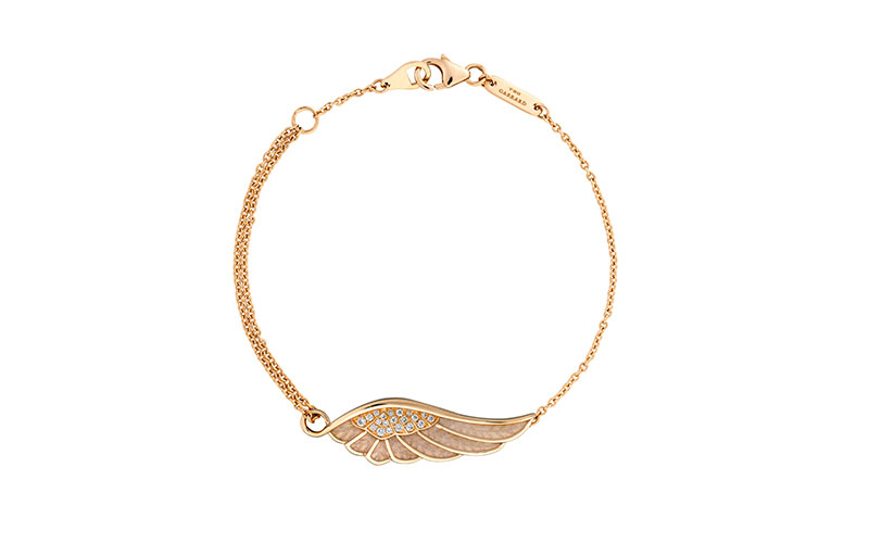 Wings Classic Bracelet Yellow Gold
